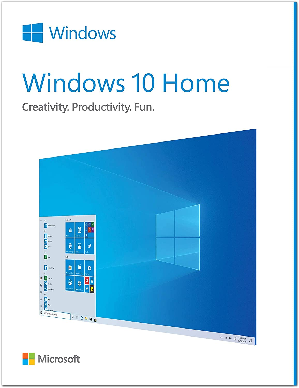 Amazon Com Microsoft Windows 10 Home Download Software