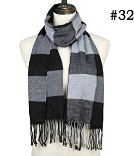 ZFADDS Women Winter Scarf Warm Bandana For Cashmere Scarves Thick Neckerchief Soft Knit Echarpe Hijabs