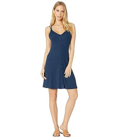 Roxy People Craziness Ribbed Dress (Dress Blues) Women