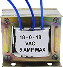Nktronics 18-0-18 5 amp Transformer for Audio, Power Supply and DIY Application Japanese core high efficeincy