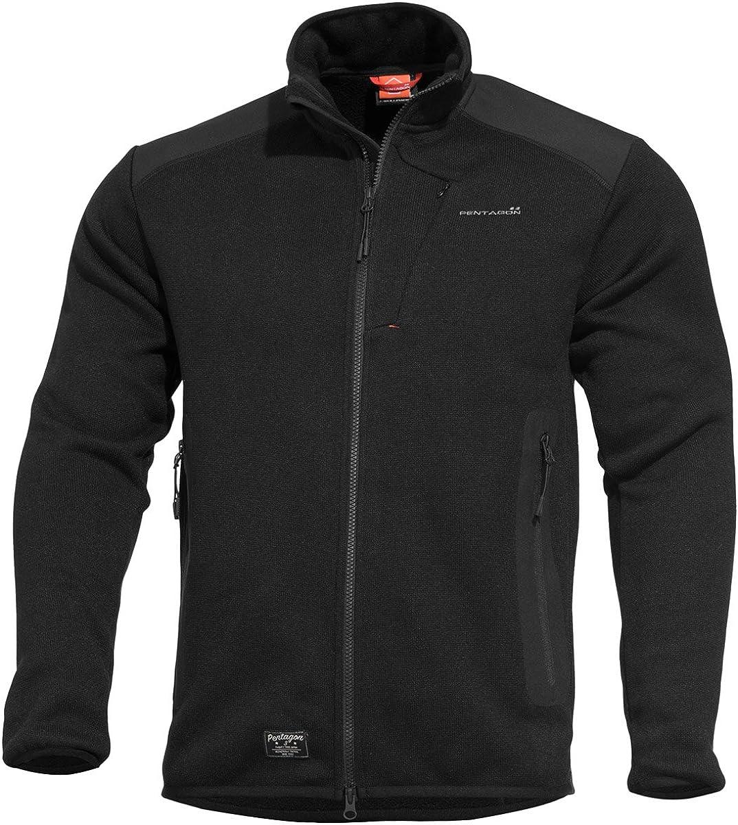 Pentagon Amintor Tactical 即納 Black Sweater 高級品