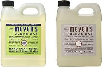 Mrs. Meyers Liquid Hand Soap Refill, 33 Fl Oz (Variety pack - 2)