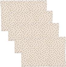 مناديل جالا الذهبية منقطة من ناو ديزاينز Set of Four Placemats 1741060aa