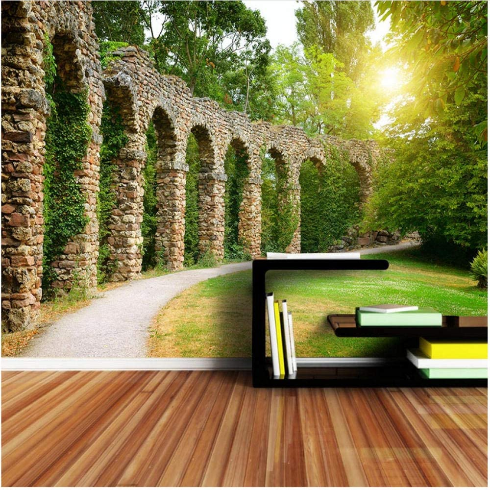 xbwy Custom 3D 2021 model Wallpaper Living Room Max 68% OFF Garden Tv Building Home Dec