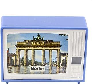 Freak Scene Gucki   klick Fernseher   Berliner Sehenswürdigkeiten blau