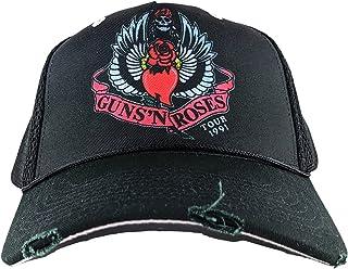 Amplified Clothing Guns N' Roses 91 Tour Black Trucker Cap