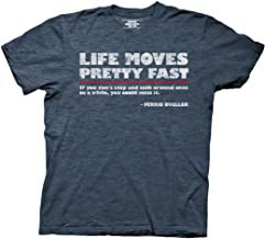Ripple Junction Ferris Bueller's Day Off Life Moves Quote Adult T-Shirt