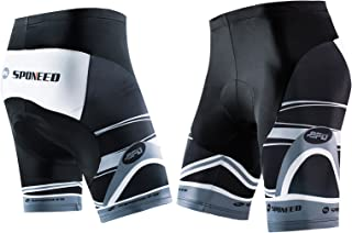 sponeed Men's Cycle Shorts Biking Pants Gel Padding Bicycle Ride Bottoms for Road Bikie MTB
