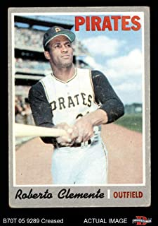 1970 Topps # 350 Roberto Clemente Pittsburgh Pirates (Baseball Card) Dean's Cards 3 - VG Pirates
