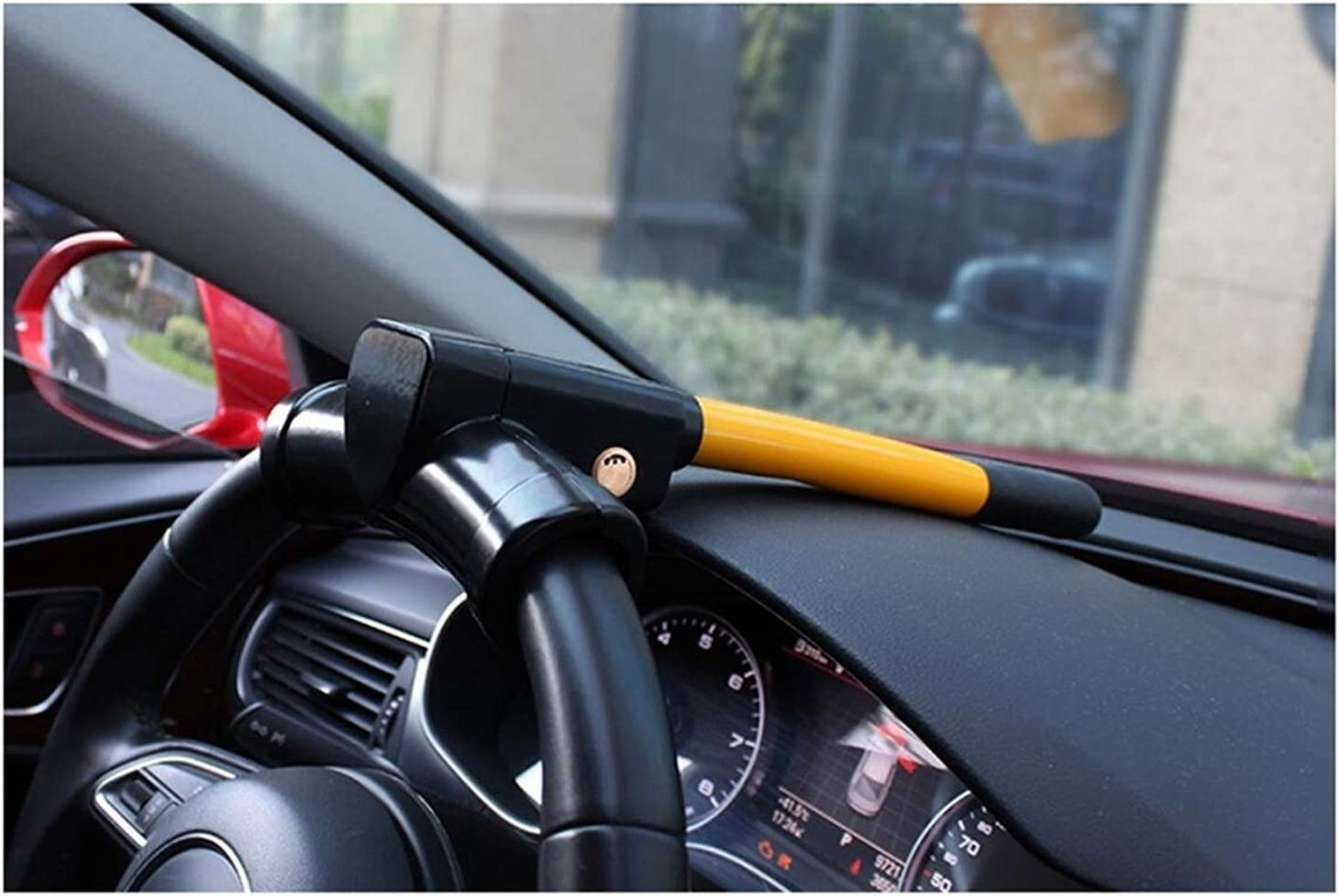 HWHCZ Car Steering Wheel Special price for a limited time Lock Columbus Mall for Compatible with Cars