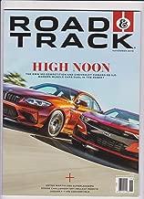 ROAD & TRACK MAGAZINE NOV 2018, HIGH NOON, NEW NO LABEL.