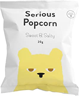 Serious Popcorn Small Sweet and Salty Popcorn Small Pack, 20 g