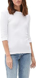 Michael Stars Women's Basic Three-Quarter Sleeve Tee Shirt