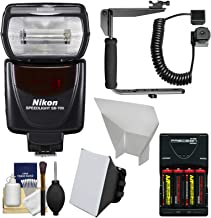 Nikon SB-700 AF Speedlight Flash with Bracket + Shoe Cord + Softbox + Bounce Reflecter + Batteries &, Charger + for D40, D60, D3000, D3100, D5000, D5100, D7000, D300s, D3 &, D3s Digital SLR Cameras