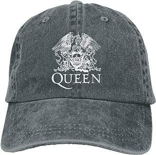 Giale Queen Band Adjustable Baseball Caps Denim Hats