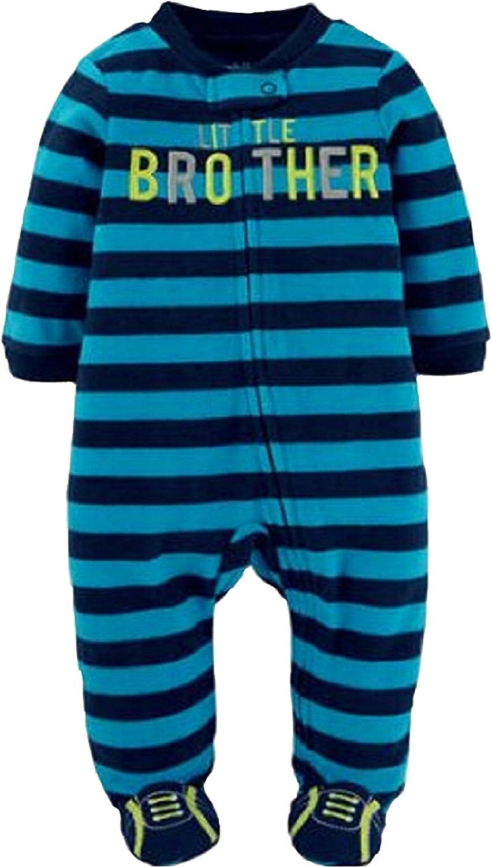 Carter's Little Brother Footie Sleepwear