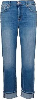 7 for All Mankind Luxury Fashion Womens JSDTU580 Blue Jeans | Season Permanent