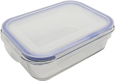 耐熱ガラス 保存容器 1050ml パチっとロック オーブン 電子レンジ 食洗機対応