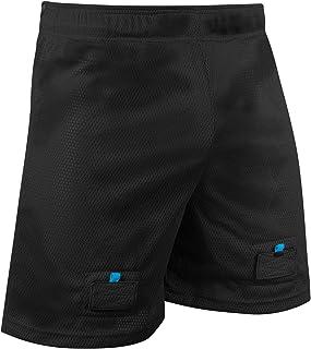 CHAMPRO Rink Textured-MESH Hockey Jock Shorts, Includes Hard Cup & Sock Tabs