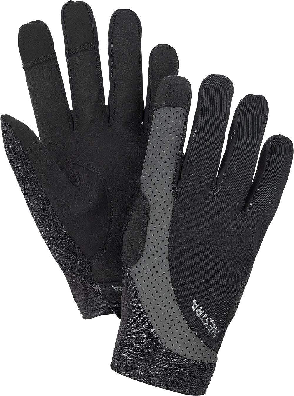 Hestra Apex Ranking TOP6 Reflective Long Bike 5-Finger - for Biki Baltimore Mall Glove