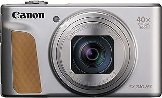 Canon PowerShot SX740 HS Cámara compacta 203 MP 1/2.3 CMOS 5184 x 3888 Pixeles Plata - Cámara digital (203 MP 5184 x 3888 Pixeles CMOS 40x 4K Ultra HD Plata)