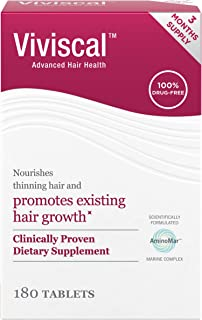 Viviscal Women's Hair Growth Supplements with Proprietary Collagen Complex, 1 Selling for Clinically Proven...