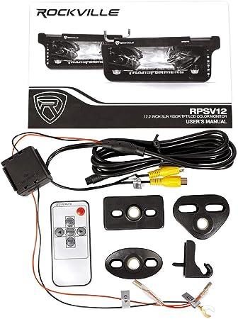 Electronics Car Electronics Rockville RPSV12-BG 12.1 Beige/Tan Car ...