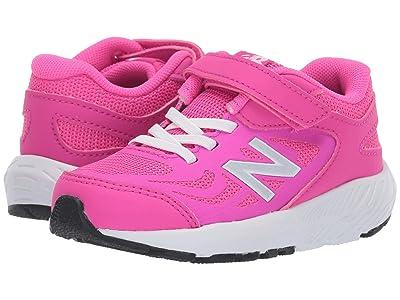 New Balance Kids 519v1 (Infant/Toddler) (Peony/White) Girls Shoes