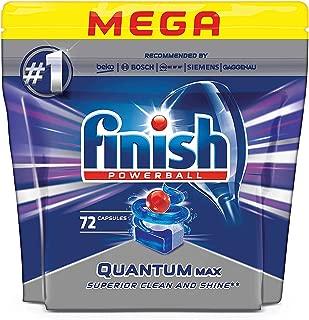 Finish Dishwasher Detergent Tablets, Quantum Max, 72 Tablets