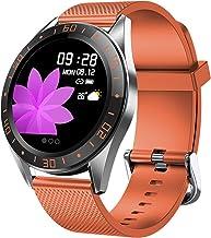 ساعة ذكية LZXMXR شاشة 1.22 بوصة، جهاز تتبع اللياقة البدنية، سوار عداد الخطوات الرياضي، قرص متعدد الاستخدامات، توقعات الطقس...