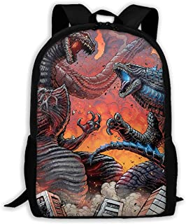 Godzilla 2 King Of The Monsters 2019 Multi-function Backpack College Bookbag