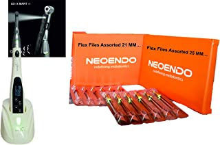 Galaxy Cordless Endomotor LED + Neoendo-flex Gold Rotary Files Combo
