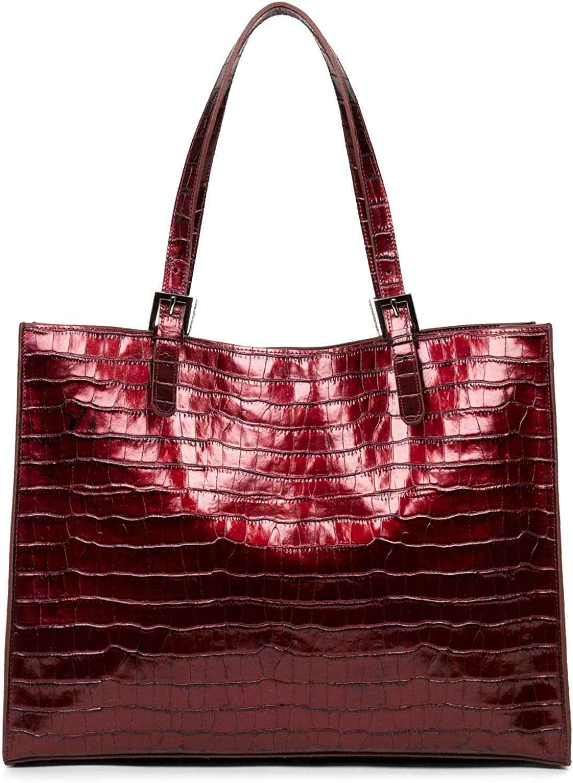 LANCASTER Grand sac cabas Rubis