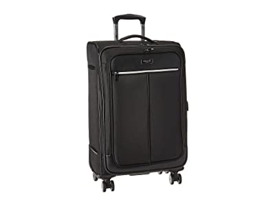 Kenneth Cole Reaction Class Transit 2.0 24 Expandable 8-Wheel Upright (Black) Luggage