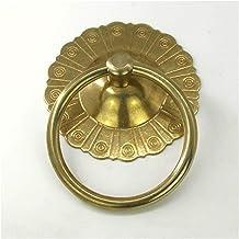 Voordeur Knocker Archaize Stijl Puur Koperen Ring Knocker Brons Deurhandvat Trek Antieke Decoratieve Deurklopper (Kleur: O...