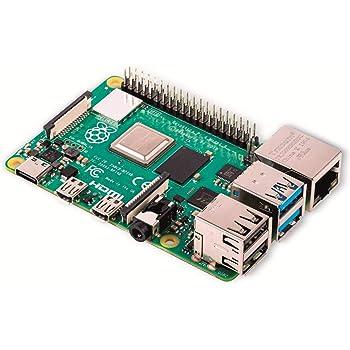 Raspberry Pi 4 Model B 2 GB - Arm Cortex-A72 4X 1,50 GHz, 2 GB di RAM, WLAN-AC, Bluetooth 5.0, LAN, 4X USB, 2X Micro HDMI