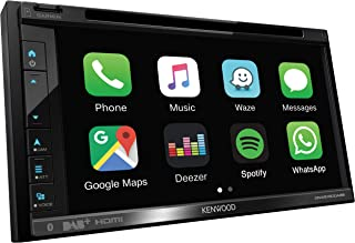 Kenwood DNX5190DABS Navigationssystem 17,1 cm (6.75') Touchscreen TFT Fixed Schwarz 2,1 kg