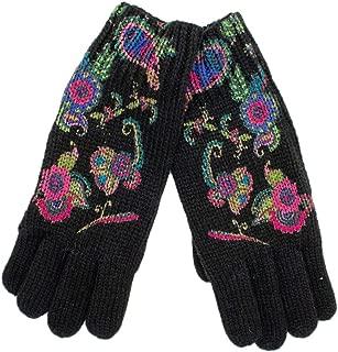 Luxury Fashion | Desigual Womens 19WAAK03BLACK Black Gloves | Fall Winter 19