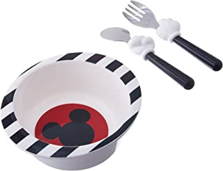 The First Years Disney Mealtime 3 Piece Set, Mickey Mouse