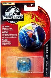 Matchbox Dino Riders Blue Gyrosphere MBX Entertainment Series 13/24 Park Vehicle