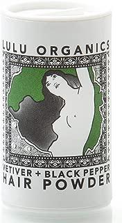 Lulu Organics Vetiver & Black Pepper Hair Powder/Dry Shampoo - 1oz