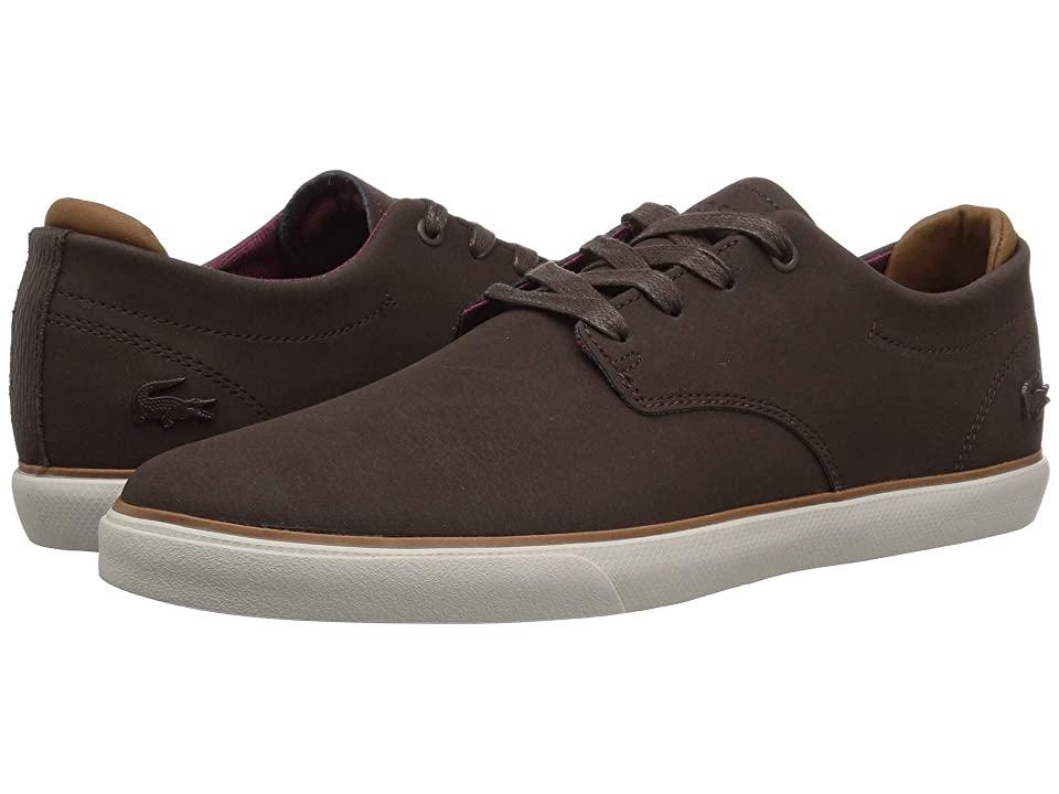 Lacoste Esparre 318 2 (Dark Brown/Brown) Men