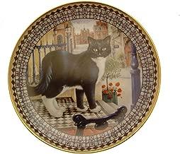 Danbury Mint Lesley Anne Ivory's Cats Plate Nicholas Thomas Wombell Cat GB149