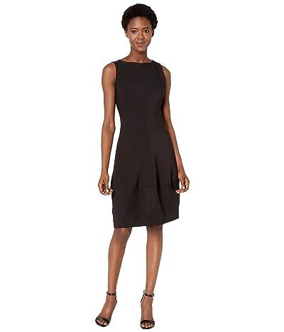 NIC+ZOE Guest List Dress (Black Onyx) Women