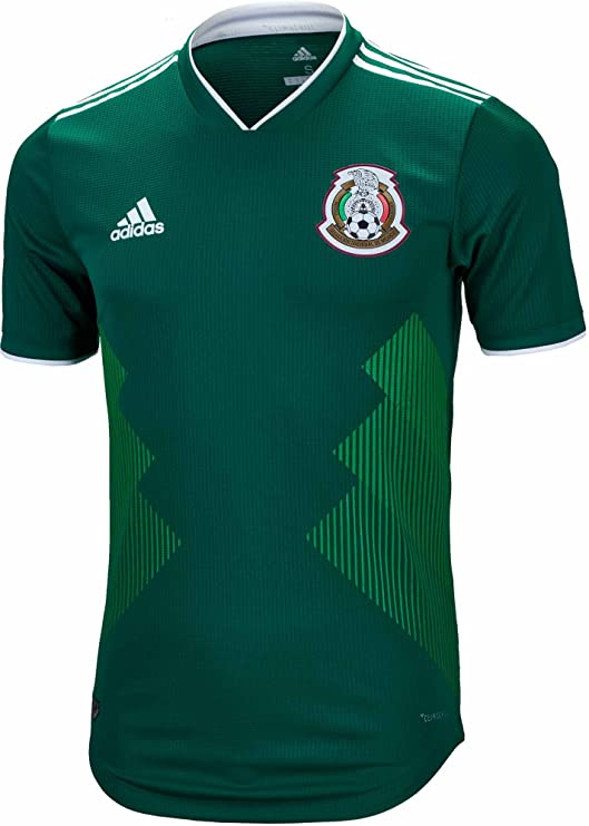 adidas Mexico Authentic Men's Home Soccer Jersey World Cup 2018