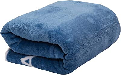 The Office Dunder Mifflin Inc Paper Company Soft Fleece Throw Blanket (Blue)