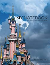 My NOTEBOOK: Block Notes Capital City Cover - PARIS - 101 Pages Dotted Diary Journal Large size (8.5 x 11 inches) (1)