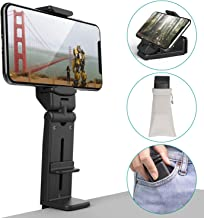 Phone Stand Holder Klealook Universal Cell Phone Mount 360 Degree Rotating Adjustable Phone Clamp Compatible with iPhone X/XS/8Plus Android Google Phones for Airplane Trays Desk Bed Cabinet