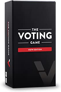 The Voting Game Card Game: The Adult Party Game About Your Friends - NSFW Edition