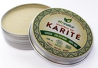 comprar comparacion Manteca de karité sin refinar Afrinatur · pura · 100% BIO Ecológica Certificada Ecocert - Pieles Atópicas - 100 ml